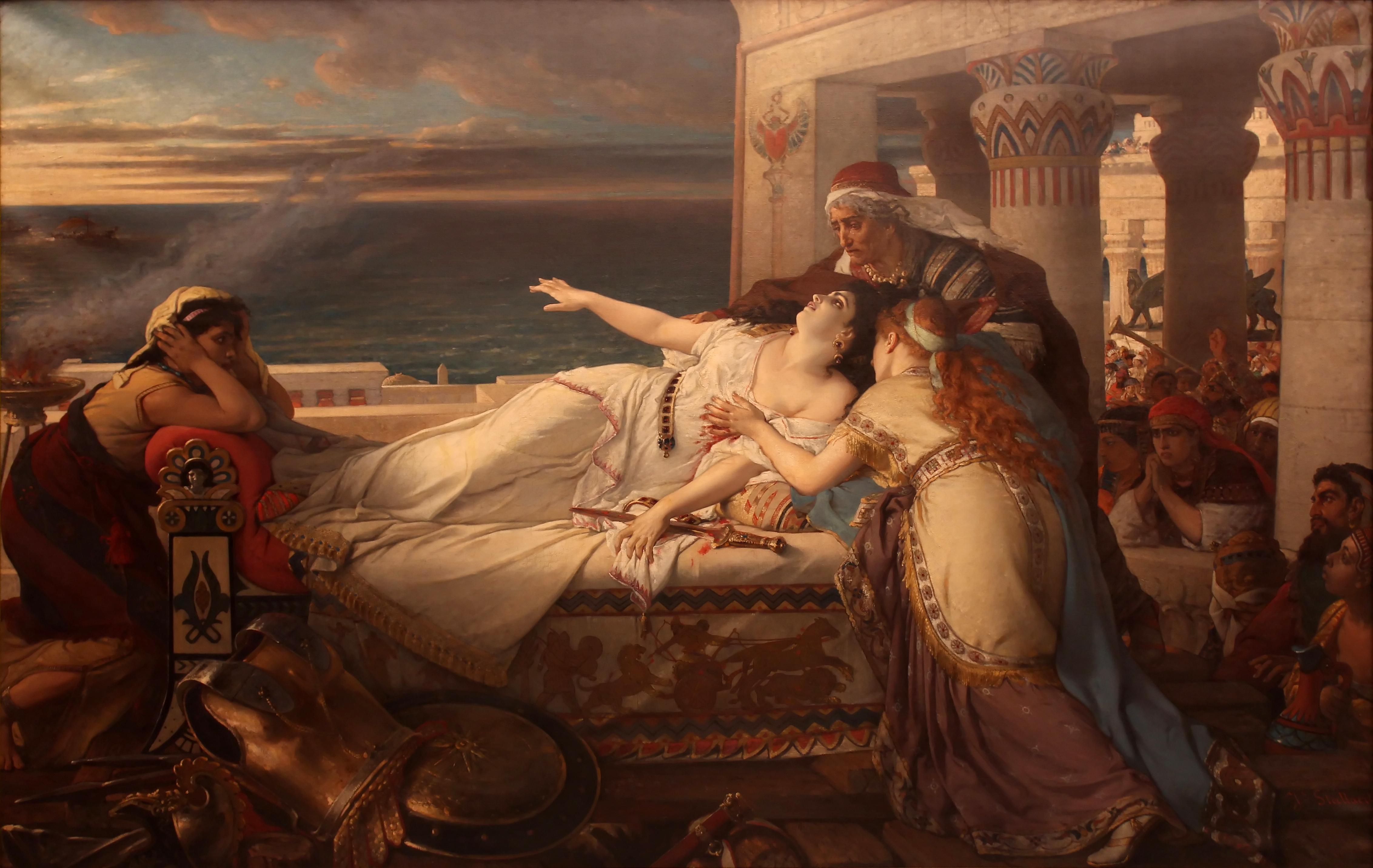 Joseph Stallaert, La mort de Didon