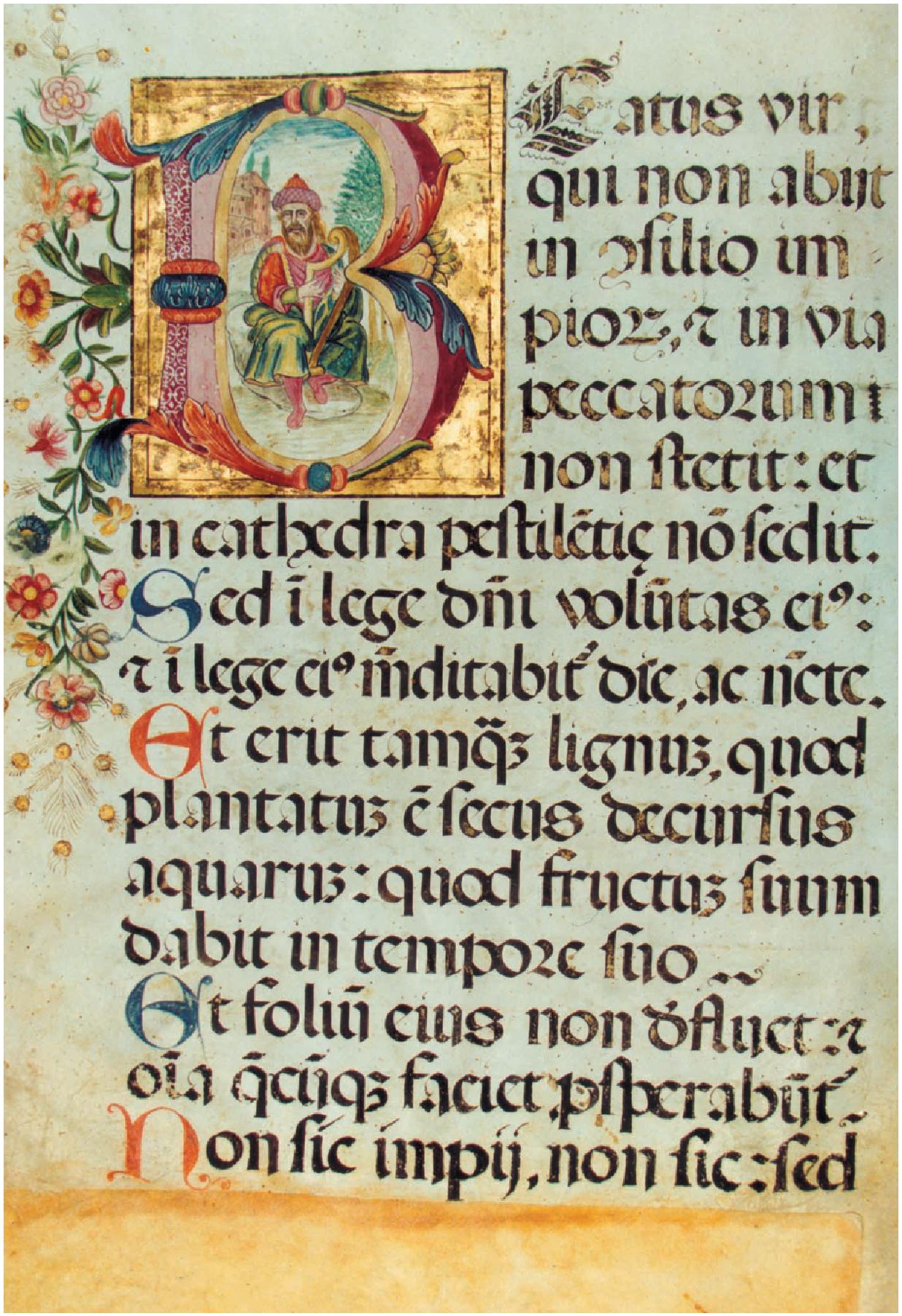 Salterio diurno del XVII secolo